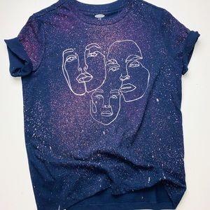 NWOT Custom Design - Triple Faced T-Shirt